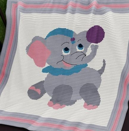 The 70 Best Crochet Baby Blanket Patterns Intarsia Crochet