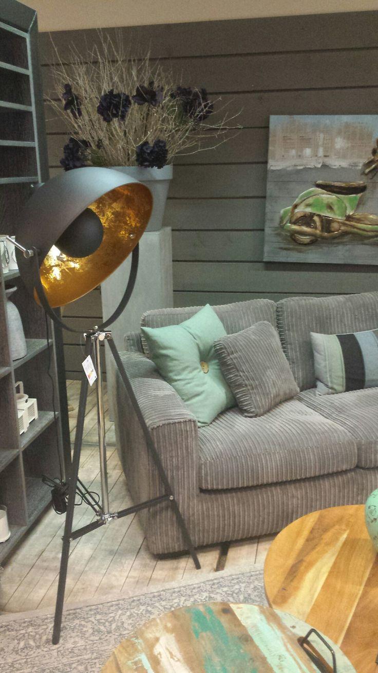 Vloerlamp Golden sun verkrijgbaar bij Korver Living in Sliedrecht  #golden sun #vloerlamp # interieur