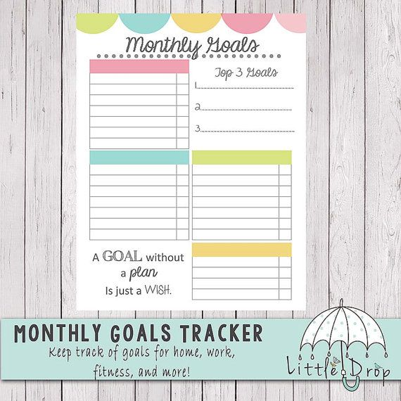 15 best Sales goal tracking images on Pinterest | Goal tracking ...
