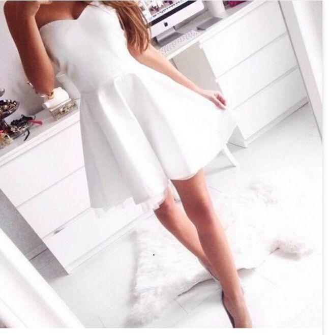 25  best ideas about Cute white dress on Pinterest | White summer ...