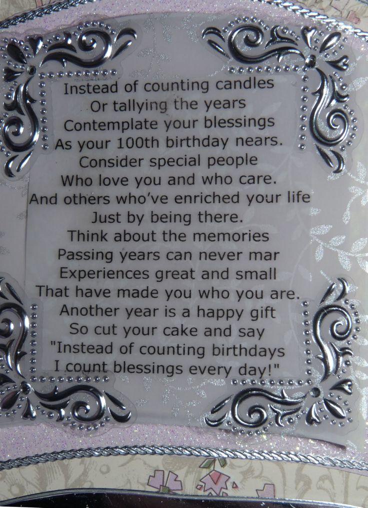 100th birthday poems for grandma | 100Th Birthday Poems http://moulinrougedesigns.blogspot.com/2011/07 ...