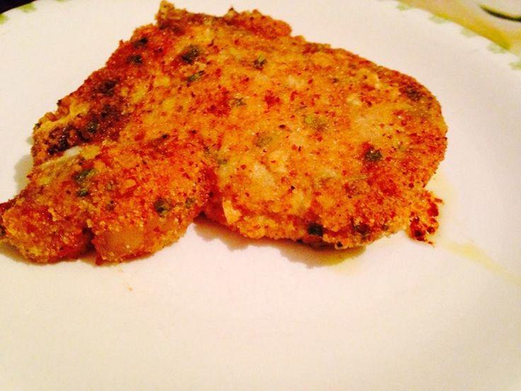 Reteta culinara Braciole di maiale impanate al forno din categoria Porc. Specific Italia. Cum sa faci Braciole di maiale impanate al forno