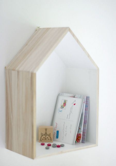27 best images about box house shelves on pinterest - What did the wall say to the bookcase ...