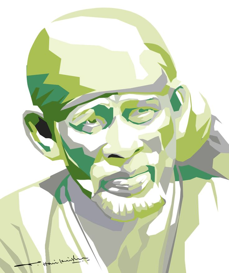 My Art Work... Sai Baba