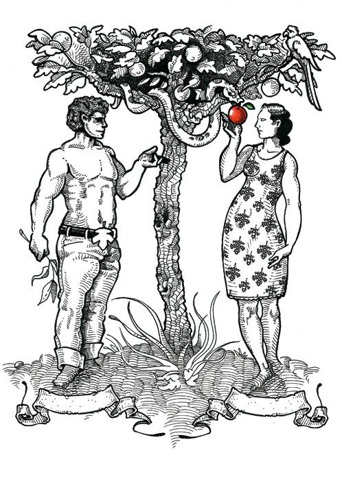 Eden Exit - Self promotional illustration