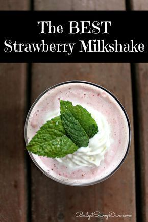 Seriously the best strawberry milkshake you will ever find. PLUS it gluten - free and done in 3 minutes