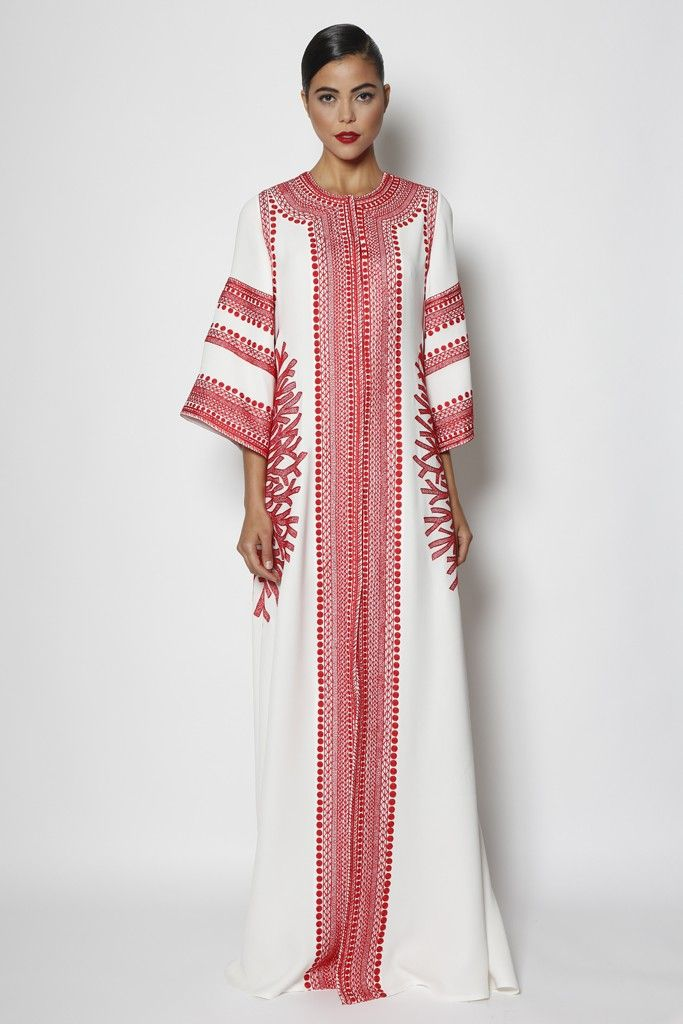 Naeem Khan. Perfect attire for cilling around the house.