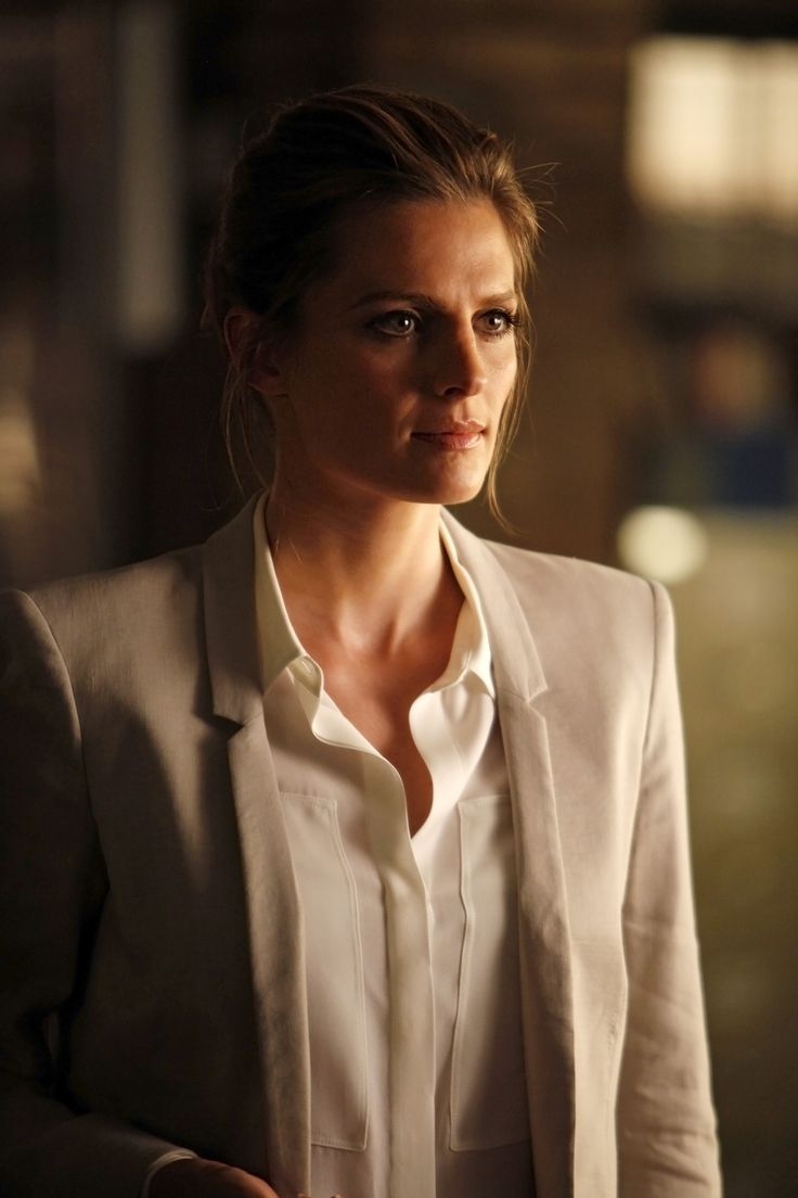 Kate Beckett took her hanging off a building to let those walls down for him