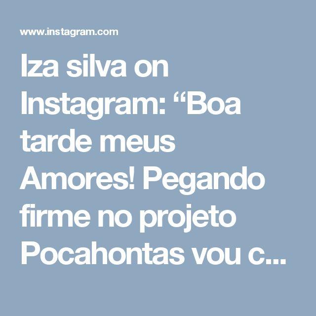 """Iza silva on Instagram: """"Boa tarde meus Amores! Pegando firme no projeto Pocahontas vou começar usar shampoo adeforte,famoso shampoos bomba! Adeforte contém…"""""""