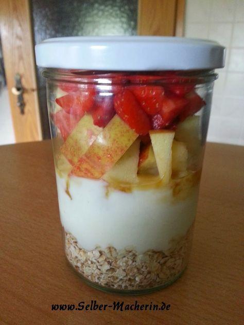 Selber-Macherin: Das perfekte Frühstück für Morgenmuffel: Sommerlicher Overnight Oat, vegetarisch oder vegan