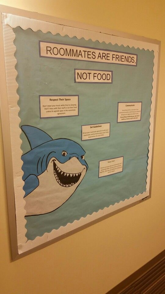 Finding Nemo (Roommate) Bulletin Board