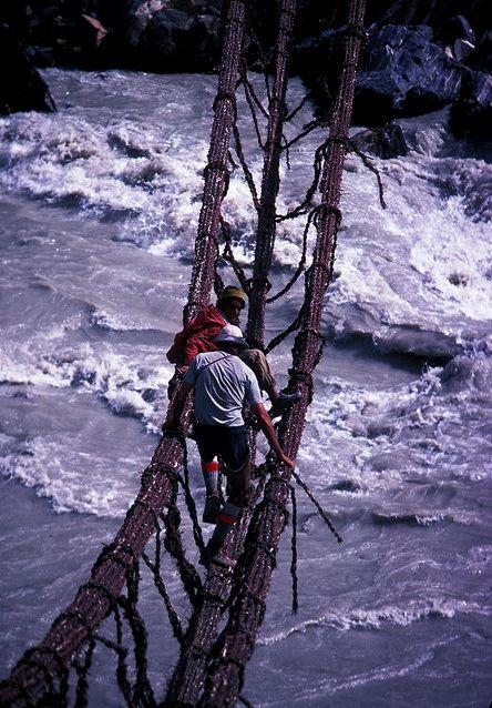 Braldu River Crossing, Pakistan