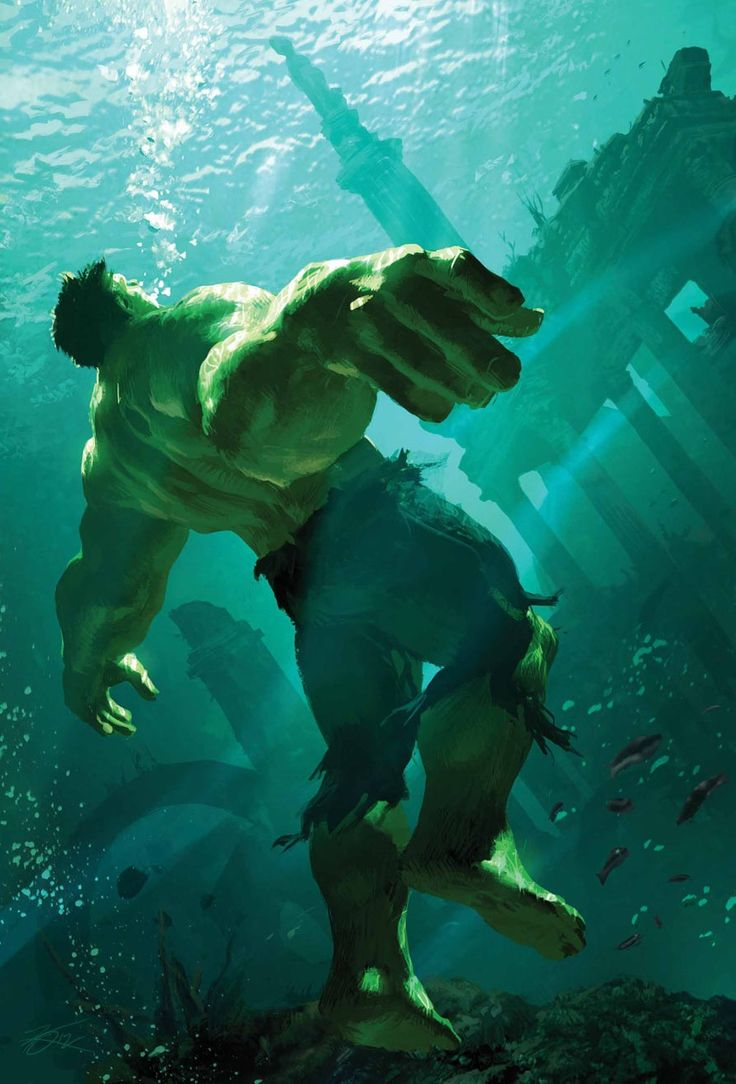 The Incredible HULK (artist unknown)