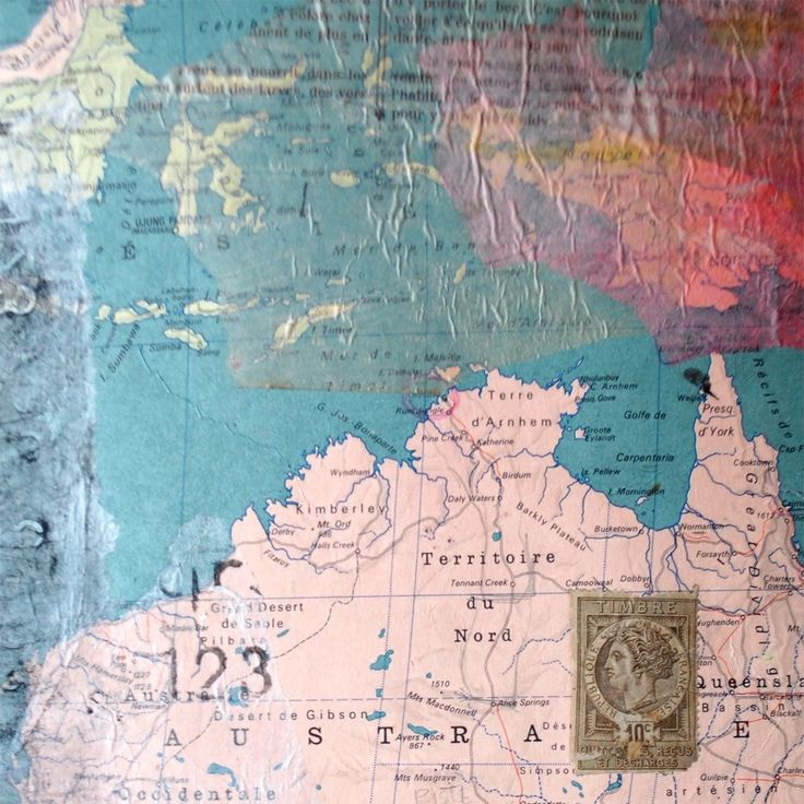 New listing, map collage