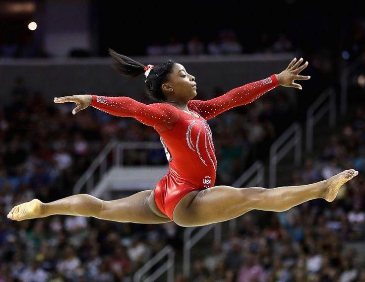 #Rio2016 Olympics - Simone Biles wins the GOLD!! #TheSimones #blackgirlsrock…