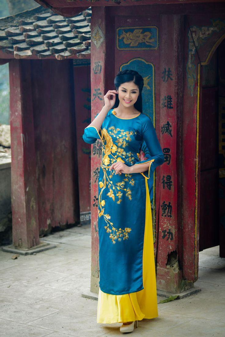 Chiêm ngưỡng những mỹ nhân Việt diện áo dài đẹp tuyệt vời 19