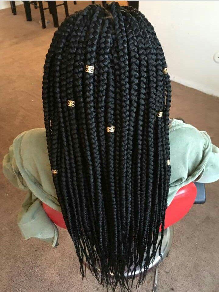 #SlayedHair perfect summer box braids