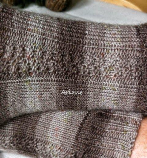 Für 4 Fach Sockenwolle Anfängertauglich Muster Geht über 8 Maschen
