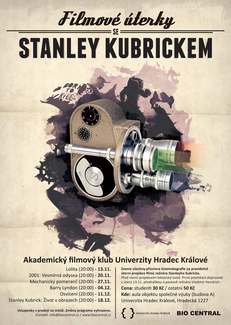 Movie poster - Stanley Kubrick