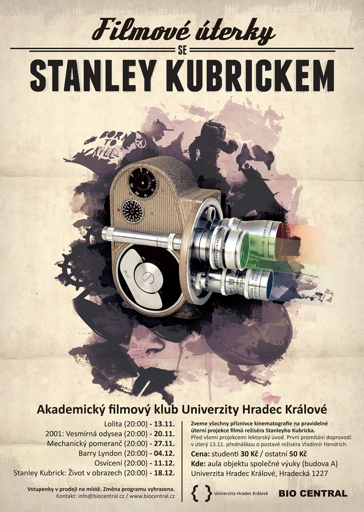 Movie poster - Stanley Kubrick