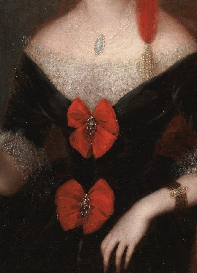 Portrait of a Lady by Jose Gutierrez de la Vega y Bocanegra