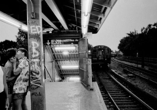 Photo by Ferdinando Scianna - USA. New York City. Brooklyn. Coney Island. 1985.