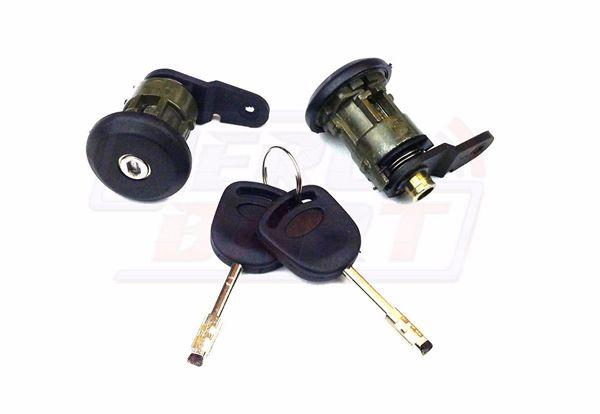 Car Lockcraft Door Lock 2 Keys for Ford Fiesta 1995-2002 KA 1996-2008 Courier Escort