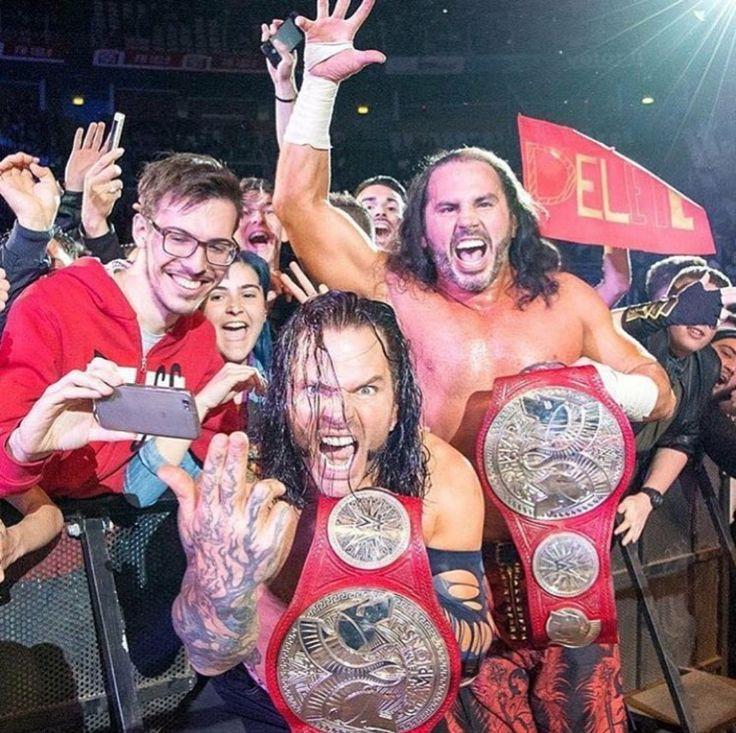 WWE World Tag Team Champions The Hardy Boyz
