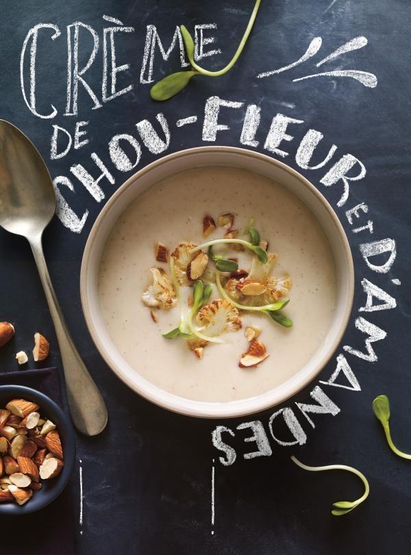 Crème de chou-fleur et d'amandes   RICARDO