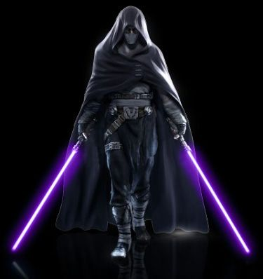 The previous poster wrote- this would be me if we were in star wars times. My wife loves purple. And she can kick some ass!