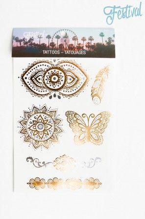 Festival tattoos