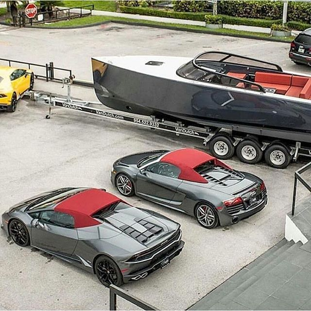 Red and gray everything Cars or boats? Via @daily.exotic Dm to learn how to…