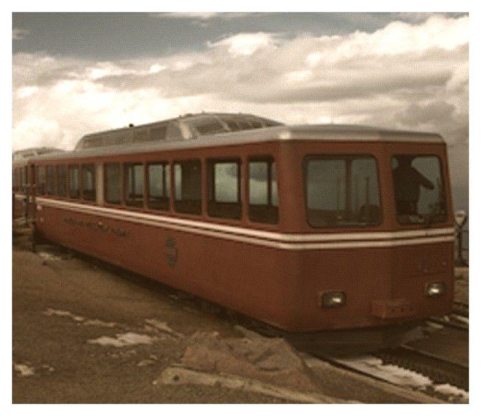 """7. """"Pikes Peak Cog Railway."""" (1974)"""