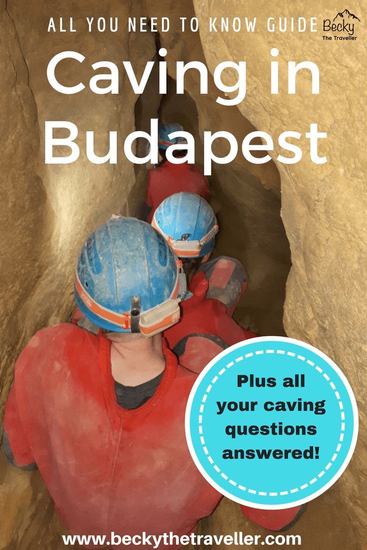 Caving in Budapest. Read here about my underground adventure in the city of Budapest, Hungary. Includes what to wear in the cave, questions about the cave tour. Budapest cave tour   Caving under Budapest   Budapest adventure   #budapest   #hungary   #travel