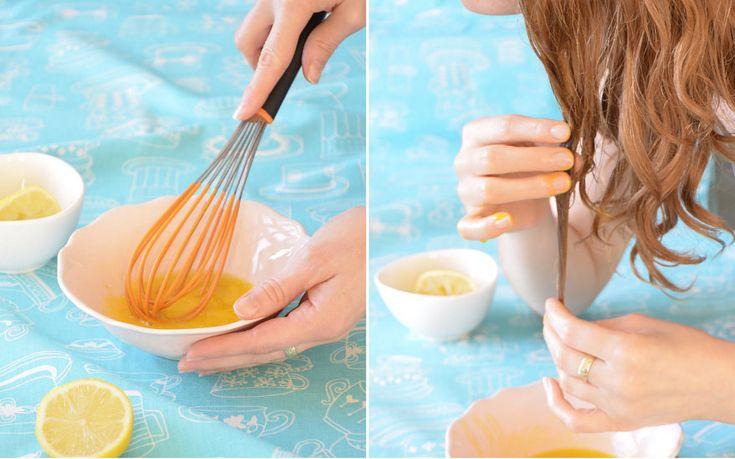 Żółtkowy szampon do włosów