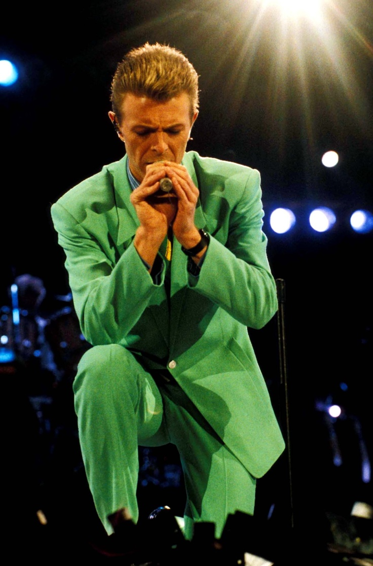 David Bowie - The Lord's Prayer - Freddie Mercury Memorial Concert, April, 1992