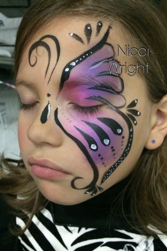 Quick butterfly design  Nicci Wright