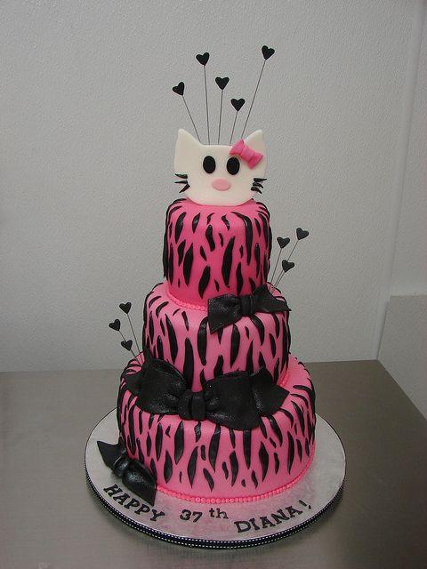 Hello Kitty Zebra Print