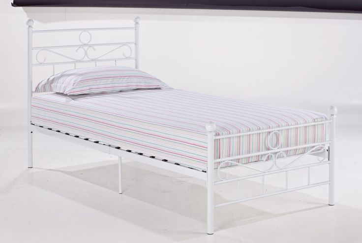 Bonsoni is proud to present this Opal Single Metal Bed Frame 3ft White by Lloyd Phillip & Delric which has Assembled Dimension: 1970 x 915 x 1015. A budget priced bed, available in black or white comes packed in one carton for easy storage and handling.  http://www.bonsoni.com/opal-single-metal-bed-frame-3ft-white-by-lloyd-phillip-delric