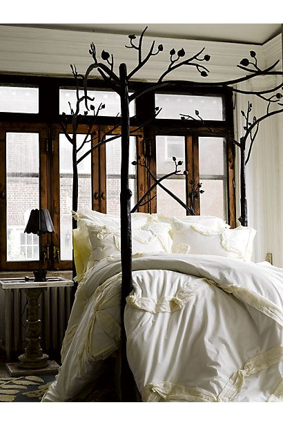 Anthropologie Forest Canopy Bed. My dream bedroom.