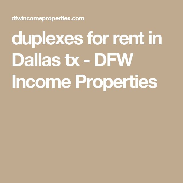 duplexes for rent in Dallas tx   DFW Income Properties   Multifamily for sale  Dallas   Fort Worth Texas   Pinterest   Income property. duplexes for rent in Dallas tx   DFW Income Properties