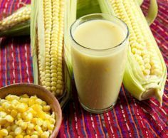 Prepara esta rica bebida caliente de elote, es perfecta para consentir a tu familia. ¡Pruébala!