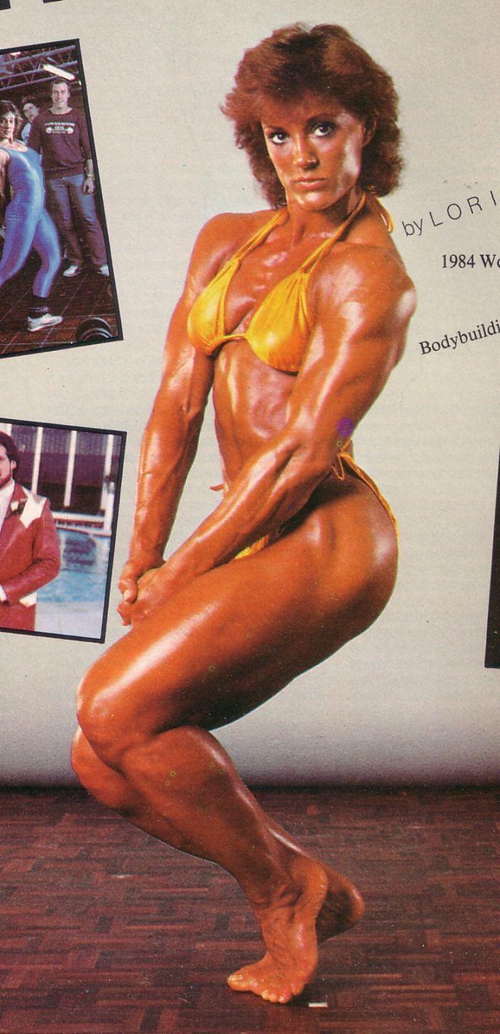 Lori Bowen Retro Bodybuilding Pinterest Fitness