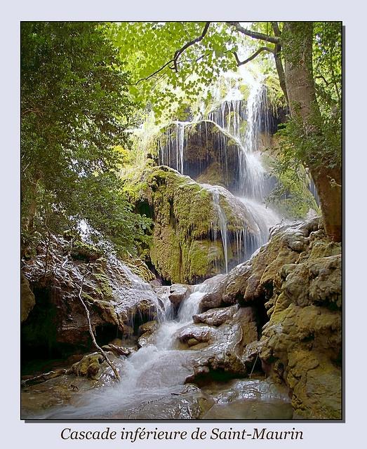 Cascade inférieure de Saint-Maurin, Gorges du Verdon by Fœtal, via Flickr