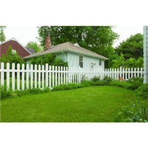 Genova Building Products FPK101 Traditional Picket Vinyl Fence by Genova. $95.03. 4' H. x 8' L. vinyl section package. Each 8' section pack contains: 12 each 3/4'' x 4'' boards, 12 each picket board caps, 1 each 2'' x 4'' rail, and 1 each 2'' x 6'' rail. All section packages come ready to assemble to posts, with color merchandising stickers and detailed installation instructions. White. Post and post tops sold separately. 91 7/8'' between posts. Made in U.S.A.. Save 13%!