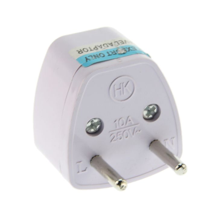 White Universal Power Plug Adapter Aquarium pumps oxygen machine and other equipment universal socket conversion head