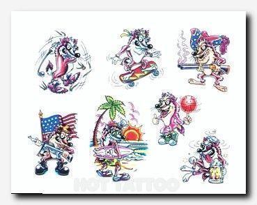 Cartoon Style Tattoo Designs. Tattoo Placement Chart – #Cartoon #Chart #Designs … – Tattoo Placement