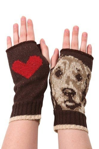 Green 3 Apparel Recycled Doggie Hand Warmers  from Fair Indigo on shop.CatalogSpree.com, your personal digital mall.