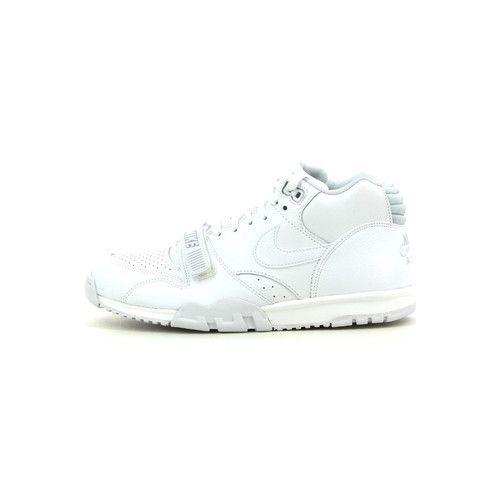 Nike Air trainer 1 mid wit - Schoenen Hoge sneakers Heren € 119,90