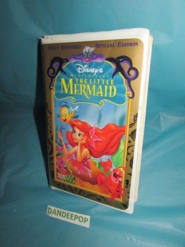 Disney-Masterpiece-The-Little-Mermaid-VHS-1998-Special-Edition #Disney #WaltDisney #TheLittleMermaid #VHS #Move #dandeepop Find me at dandeepop.com